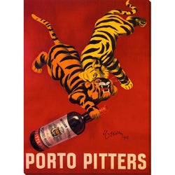 Gallery Direct 'Porto Pitters' Gallery Wrapped Canvas