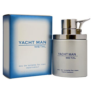 Myrurgia Yacht Man Metal Men's 3.4-ounce Eau de Toilette Spray