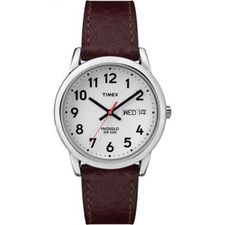 Timex Men's T20041 Easy Reader Brown Leather Strap Watch|https://ak1.ostkcdn.com/images/products/P12987455m.jpg?_ostk_perf_=percv&impolicy=medium