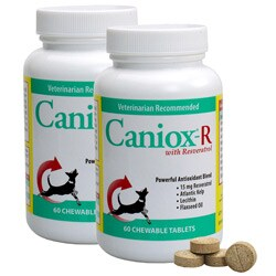 Caniox-R with Resveratrol 60-ct Supplements (Pack of 2)