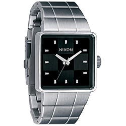 Nixon Quatro Men's Black Dial Stainless Steel Watch|https://ak1.ostkcdn.com/images/products/P12992889.jpg?impolicy=medium