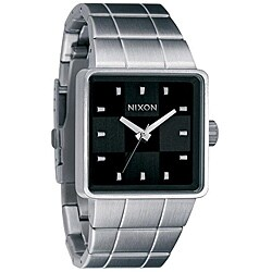 Nixon Quatro Men's Black Dial Stainless Steel Watch