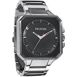 Nixon Platform Men's Black Stainless Steel Watch