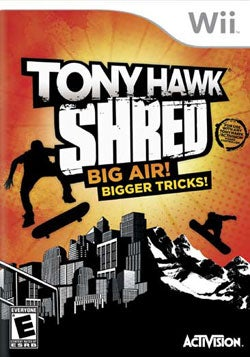 Wii - Tony Hawk: Shred - Activision Inc