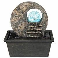 Ore International Textured Indoor Table Fountain