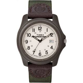 Timex Unisex T49101 Expedition Camper Brown Resin Case Green Nylon Strap Watch|https://ak1.ostkcdn.com/images/products/P12998374m.jpg?impolicy=medium