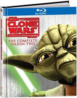 Star Wars: Clone Wars Season Two DigiBook (Blu-ray Disc)