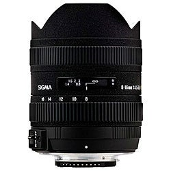 Sigma 8-16mm F4.5-5.6 DC HSM Canon Lens