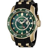 Invicta Men's Pro Diver GMT Black Polyurethane Watch