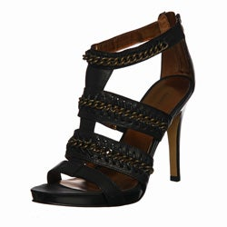 Nine West Women's 'Livy' T-strap Sandals - Thumbnail 0