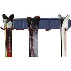 Tres 3-ski Wall Mount Storage Rack