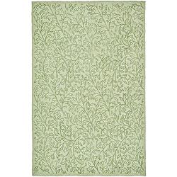 Martha Stewart Sprig Eucalyptus Mint Green Cotton Rug (7'9 x 9'9)