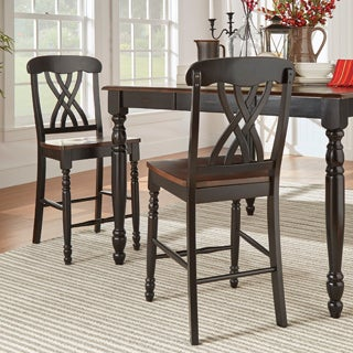 TRIBECCA HOME Mackenzie Counter Height Chair (Set of 2)