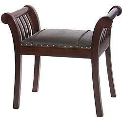 Shop Small Indoor Old Spanish Mission Bench Free
