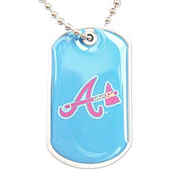 Atlanta Braves Dog Tag Necklace