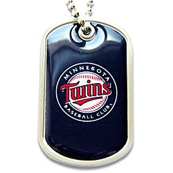 Minnesota Twins Dog Tag Necklace