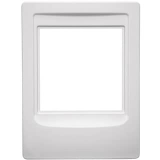Indoor Remote Station Retrofit Frame-White