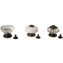 Idea-Ology Antiqued Vintage Curio Knobs (Pack of 3)