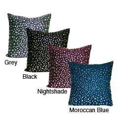 Thumbnail 1, Studded Trixie Faux Suede Decorative Pillow.