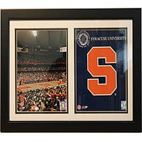 Syracuse University Double Photo Frame