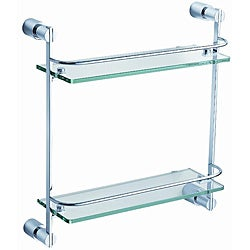 Fresca 'Magnifico' 2-tier Glass Shelf
