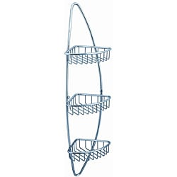 Fresca 3-tier Corner Wire Basket