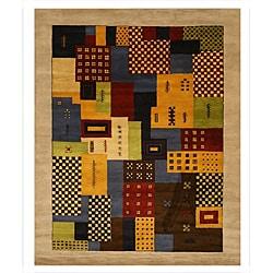 Hand-tufted Wool Misra Rug (7'9 x 9'9) - Thumbnail 0