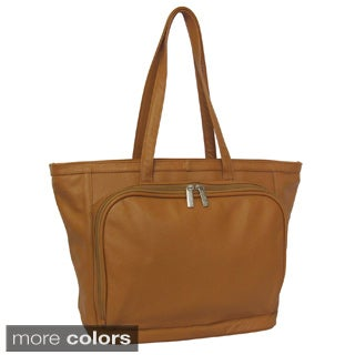 Amerileather Cosmopolitan Leather Tote Bag