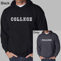 Los Angeles Pop Art Men's College Hoodie