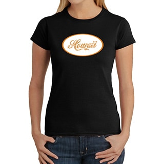 Los Angeles Pop Art Women's Hawaii T-Shirt