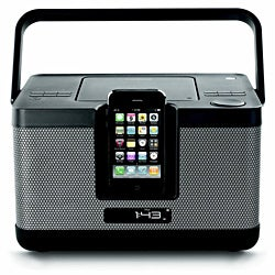 Memorex Party Cube CD Docking Station for iPod/ iPhone - Thumbnail 0