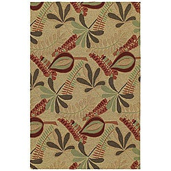 Home & Porch Tybee Linen Indoor/ Outdoor Rug (2' x 3')
