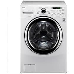 Shop Black Friday Deals On Lg 4 2 Cubic Foot Front Load Washer Dryer Combination Overstock 5247480