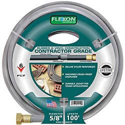 Flexon 100-foot Contractor Garden Hose
