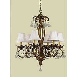 Southgate 6-light Bronze Chandelier
