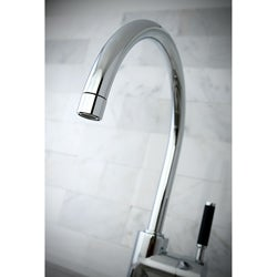 Kaiser Chrome Single-handle Vessel Filler Bathroom Faucet