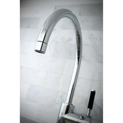 Kaiser Chrome Single-handle Vessel Filler Bathroom Faucet