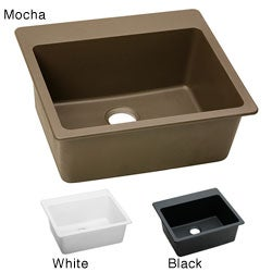 Elkay ELG2522 E-granite 25x22-in Single-bowl Top Mount Sink