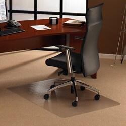 Floortex Cleartex Ultimat Polycarbonate Rectangular Chair Mat (47 x 30)