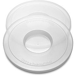 KitchenAid KBC90N Mixer Bowl Covers for Pivot Head Stand Mixer Bowls (Pack of 2)