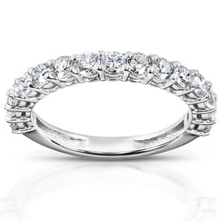 Annello 14k White Gold 1ct TDW Diamond Wedding Band|https://ak1.ostkcdn.com/images/products/P13092900p.jpg?impolicy=medium