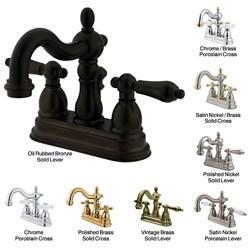 Thumbnail 1, Heritage Double-handle Centerset Bathroom Faucet.