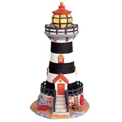 Shop The Village Collection's Christmas Lighthouse Decor - Free Shipping On Orders Over $45 - Overstock - 5291368