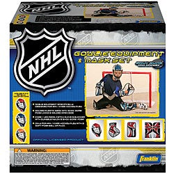 NHL Mini Hockey Goalie Equipment/ Mask Set