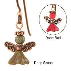 Copper 'Angel of Kyprios' Earrings