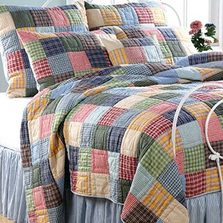 Gracewood Hollow Huxley Reversible 3-piece Quilt Set