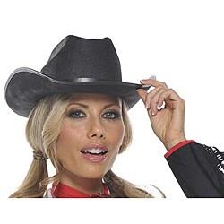 Black Costume Cowboy Hat