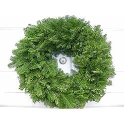 Fresh Balsam 24-inch Christmas Wreath