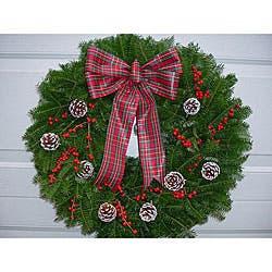 Winterberry 24-inch Fresh Balsam Wreath|https://ak1.ostkcdn.com/images/products/P13191369.jpg?impolicy=medium