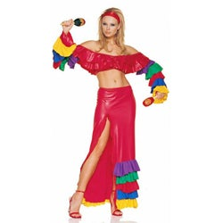Women's 2-piece Salsa Dancer Party Costume